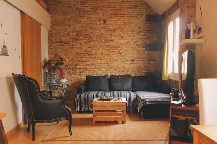 Design apartment in Borne Barcelona - Barcelona - Apartamento