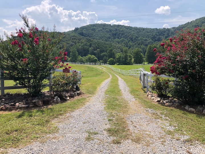 T-Lea Farm, llc. 73 acre private retreat, East TN
