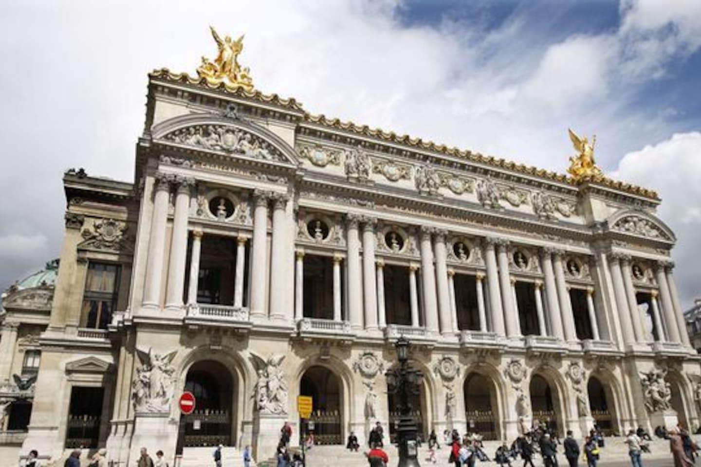 Opera Garnier, only 7mn by walking