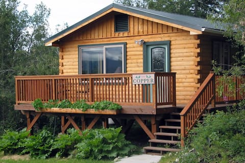 The Copper at Currant Ridge - A Large Log Home!