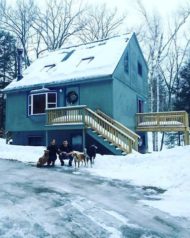 The Shack //  North Conway, Story Land, Saco River - Bartlett - Huis