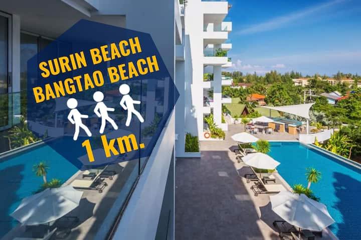 ✅Sea view in Surin Sunsuri 160 sqm! near the beach