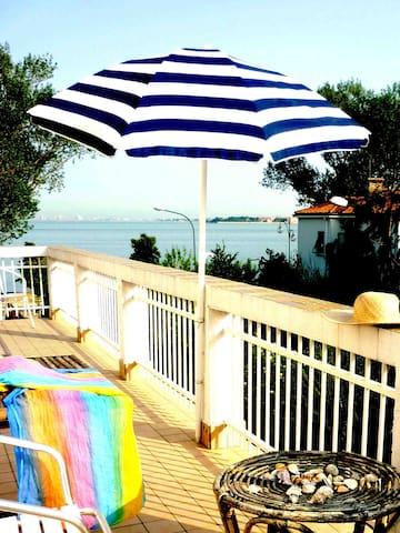 Venice Lido with amazing view! Biennale ARTE - Lido - Wohnung