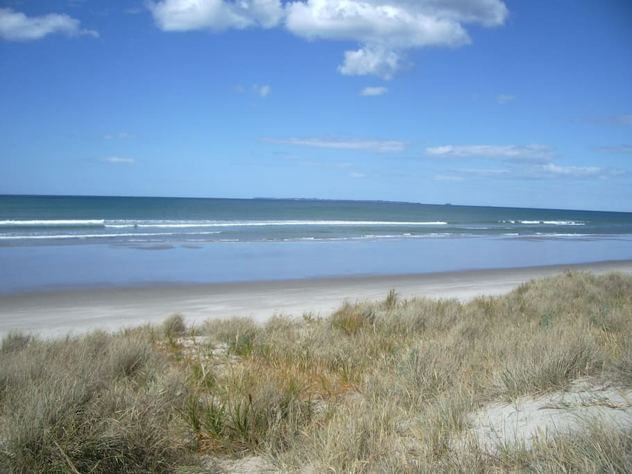 Swim, surf, walk or listen to the sea.