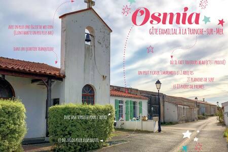 Osmia - Maison typique au coeur de la Terrière