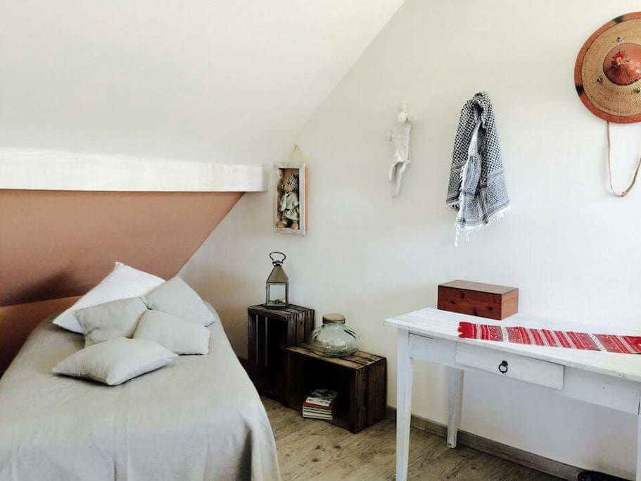 Chambre atypique type loft de style africain houses for rent in ch vremont - Chambre style africain ...