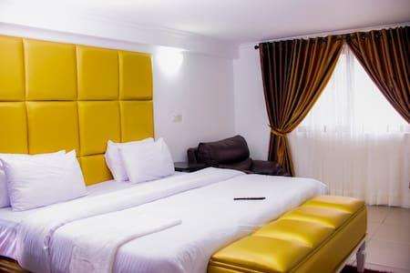 A nice Service Apartment On Golden Tulip Festac
