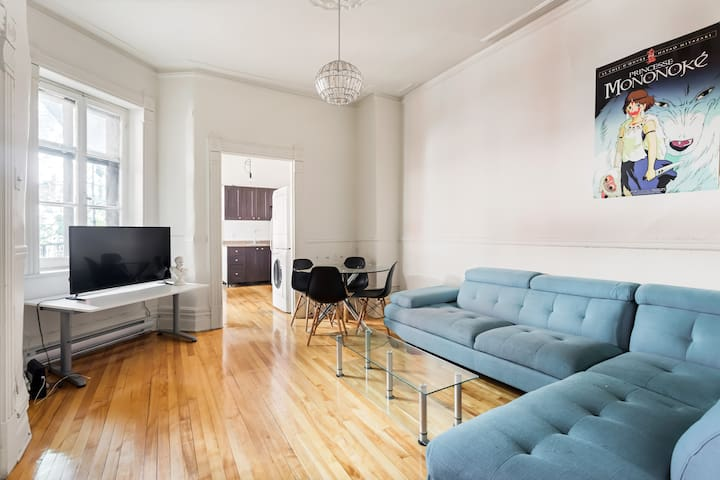 Spacious, high ceilings, lots of light Plateau-Mtl