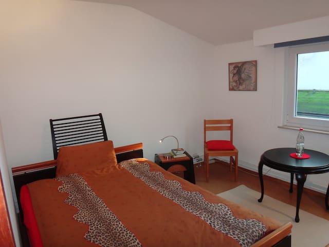 Einfach + nett, mit Bad + Parkplatz - Bad Homburg - House