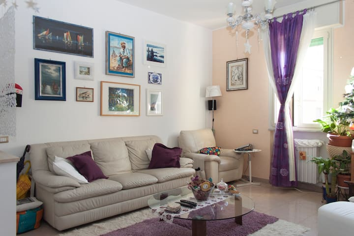 Family end confort holiday,WI-FI,privat bathroom - Roma - Daire