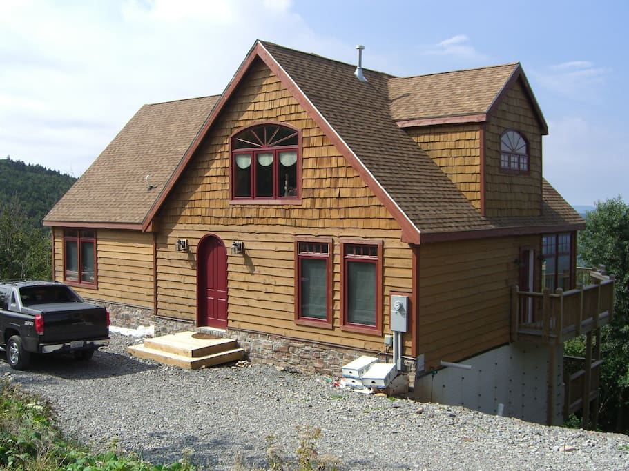 Custom Home Top Of Snowshoe Mt Houses For Rent In