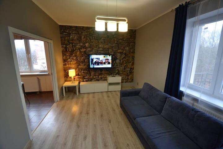 Квартира с видом на море  - Пионерский - Lägenhet