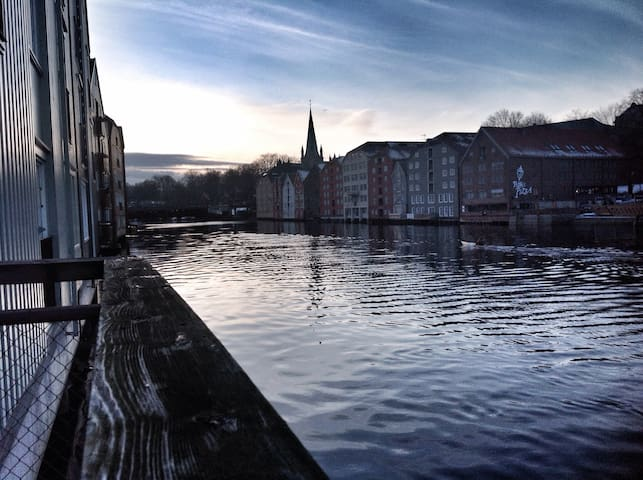 Trondheim's best kept secret - Trondheim - Apartamento