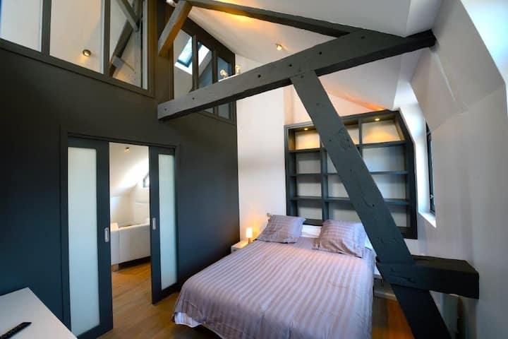 Appartement 3, sur le bassin d'Honfleur
