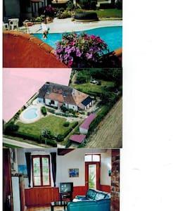 maison/piscine 10x5m chauffée  - Saint-Loup-d'Ordon - Casa
