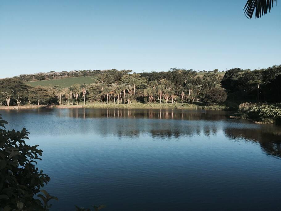 Lago particular de 100.000m².