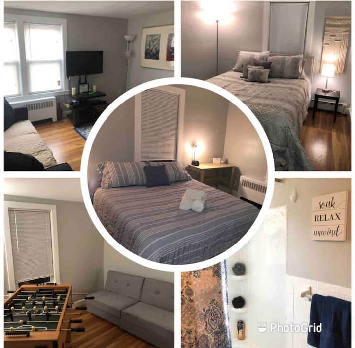 🌟Executive Pad w/ Free Parking/WiFi/Self Check-In🌟