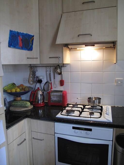Kitchen detail - cooker.