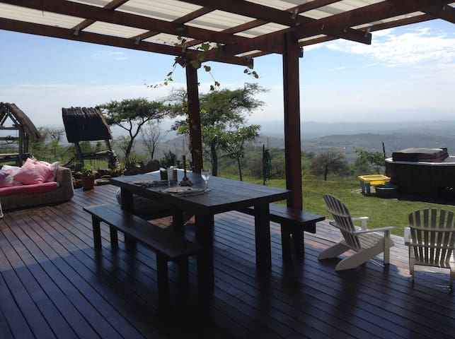 Stunning home in scenic mountains - Dwaleni - Casa