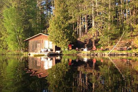 Superior National Forest Lake Cabin. Great Skiing - Isabella