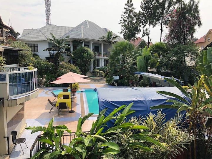 Hotel 2 paysages maison avec vue sur le lac