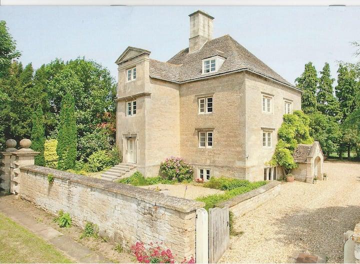 Manor House in Delightful Village