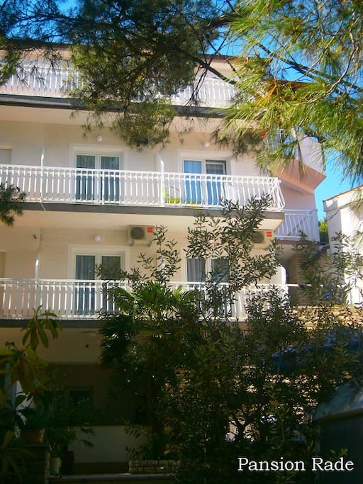 Pansion Rade consist of four floors, this particular room is situated on third floor / attic.