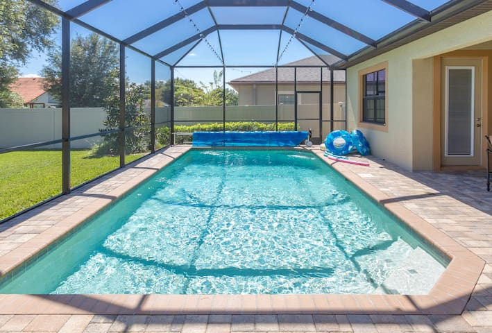 Heated Pool, gated community,large 4BR,3BA house ⭐️