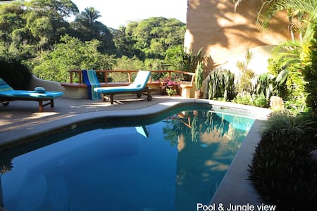 Jungle view with private pool - Sayulita - Hus