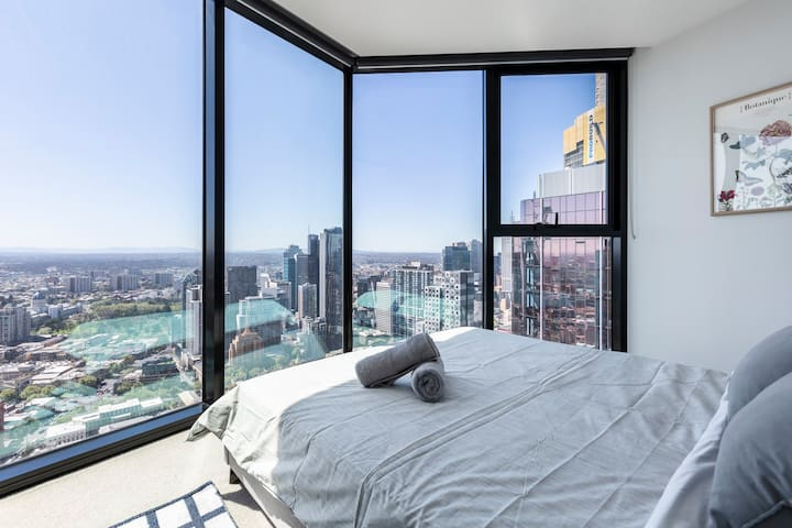 Delux Skyhigh2bedder heart of CBD*WiFi*Free Parkin