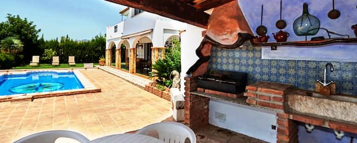 Casa familiar con vistas en Mijas