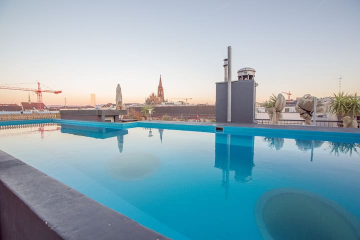 City Loft 6 Room | Rooftop Pool - Basilea - Loft