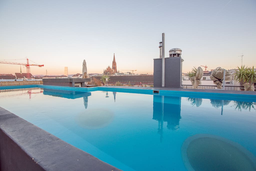 City Loft 6 Room Rooftop View Pool Lofts For Rent In