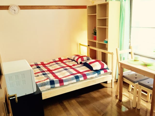 Cozy room, easy access to HND, Shibuya. - Ōta-ku - Apartamento