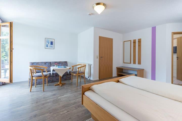 Gasthaus zum Sternen - Bioland Restaurant (Obersiggingen), Vierbettzimmer (Gasthaus)