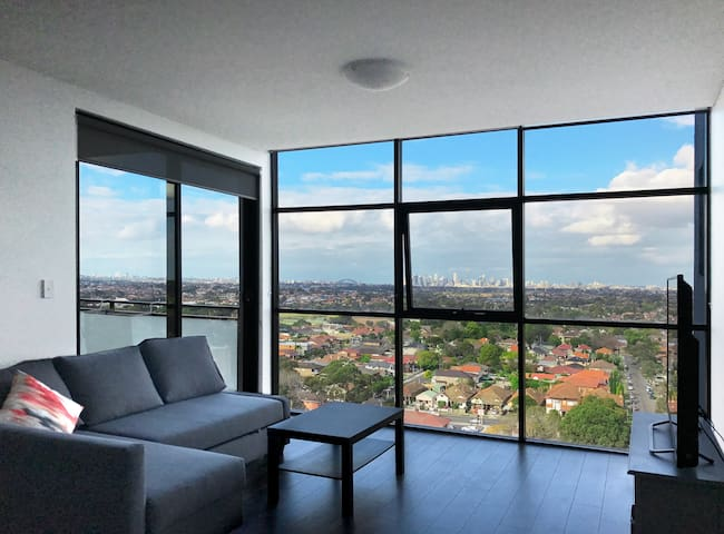 Burwood Central Two Bedroom High Level City View