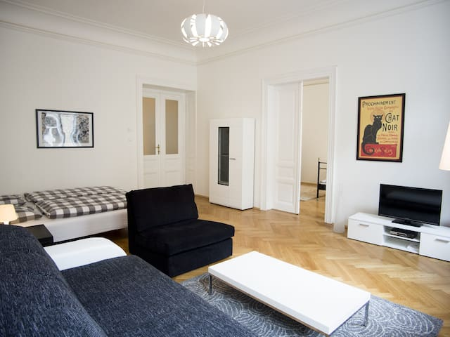 two bedroom apartment, PRAGUE 1