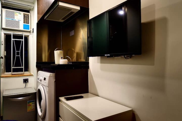 New Cozy Studio home at heart area of Causeway Bay