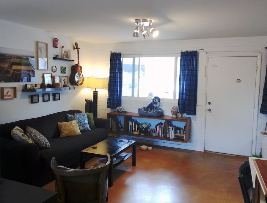 Our little apartment is small, but perfect for 2-4 who want to explore Phoenix from a great central location!