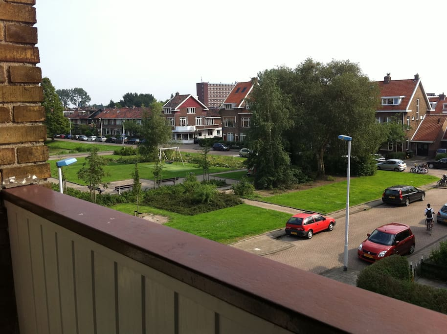 view from Balcony which has also been renovared in the past week. so looking better than this now ;0)