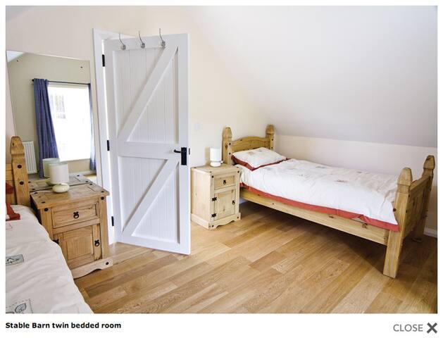 Stable Barn twin bedroom