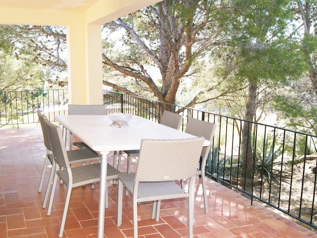 Apartment first floor of a house with 2 apartments for 6 persons at Llançà
