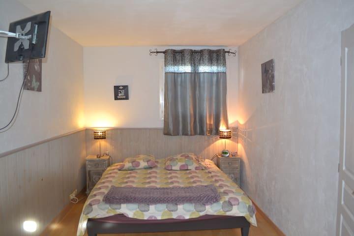 grande chambre indépendante - Labastide-de-Lévis - Casa