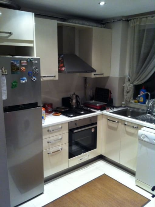 New White goods in the kitchen