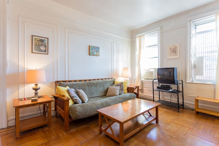 Sunny, spacious 1-bedroom in Upper Manhattan