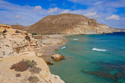 La Isleta del Moro, Cabo de Gata, Almería, España