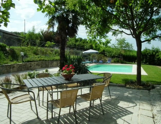 Farmhouse with private pool & wifi - Colmurano