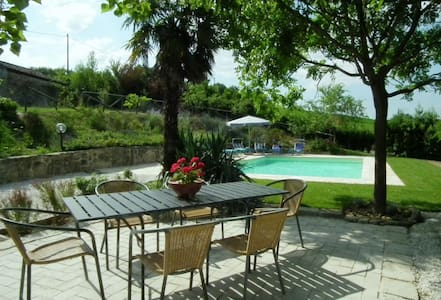 Farmhouse with private pool & wifi - Colmurano - Vila