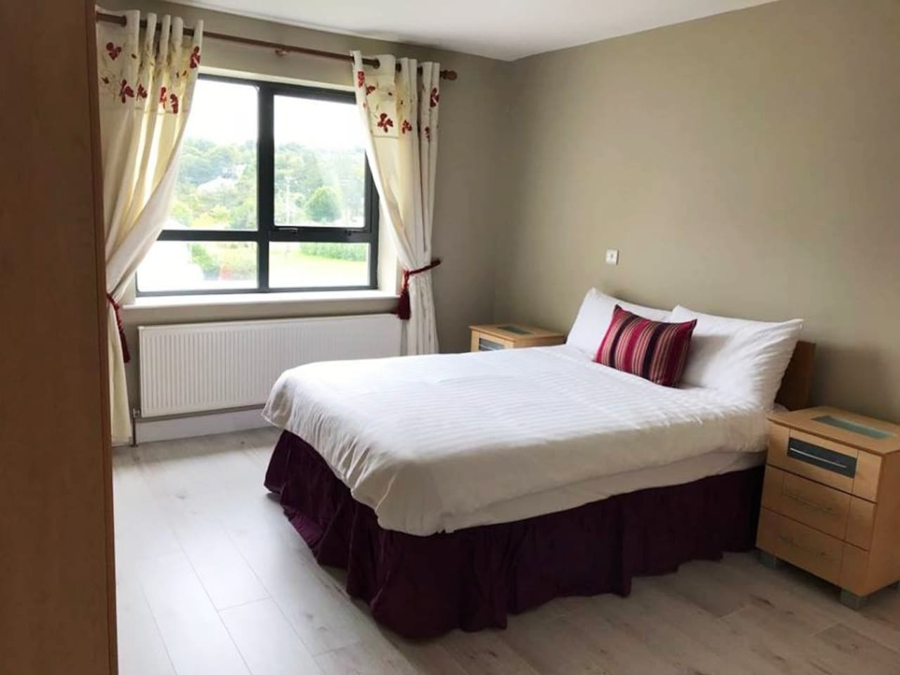 Our double bedroom with ensuite