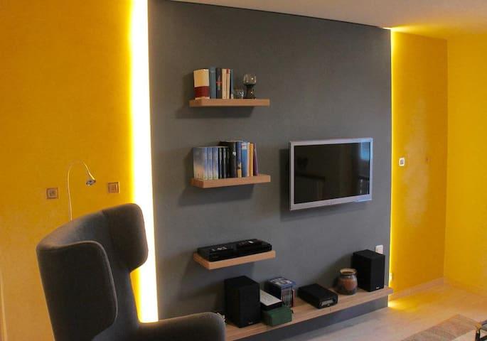 Haus Farbenklang (Zwiesel), Mäander Ferienwohnung mit kostenfreiem WLAN und Balkon